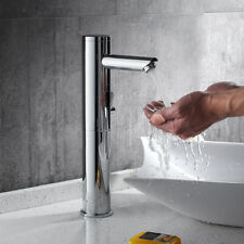 Hoch Infrarot Sensor Wasserhahn Waschtischarmatur Waschbecken Mischbatterie Bad