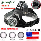 5000 Lm CREE XM-L XML T6 LED Headlamp Headlight flashlight head light lamp 18650