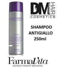 FARMAVITA AMETHYSTE SILVER SHAMPOO 250ml ANTIGIALLO PER CAPELLI BIONDI GRIGI c76a332d136e