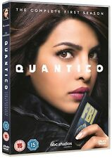 QUANTICO 1 (2015-2016): FBI, Terrorist, Drama - TV Season Series - UK DVD not US