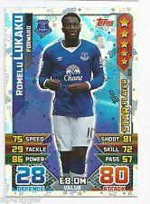 2015 / 2016 EPL Match Attax Star Player (108) Romelu LUKAKU Everton