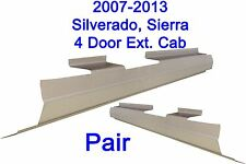 2007-2013  Silverado, Sierra 4 Extended Cab Outer Rocker Panel Pair