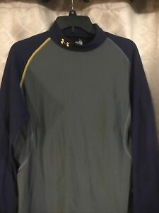 Men's Under Armour Cold Gear Base Layer Activewear Top Long Sleeve 2 X Large
