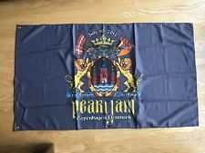 Pearl Jam Flag Grey Forum Copenhagen Denmark July 10 2012