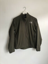 The North Face Khaki Green Apex Jacket Women's Size M 10 12 Genuine Active Sport