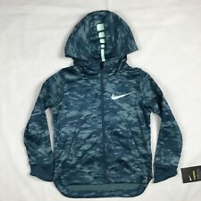 Nike Basketball Dri Fit Therma Jacket Hoodie LongSleeve Youth Kid Size 6 -5-6yrs