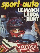 SPORT AUTO n°178 11/1976 avec encart & poster GP USA & CANADA SAN REMO