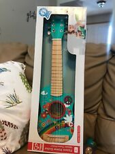 Hape Flower Power Guitar In Turquoise