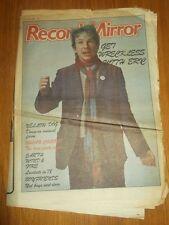 RECORD MIRROR FEBRUARY 18 1978 MARC BOLAN PAUL MCCARTNEY ROD STEWART DAVID ESSEX