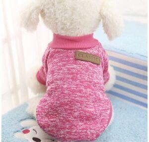 Pink Small Dog Yorkie Clothing Sweatshirt New Nwot