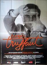 TRUFFAUT Affiche Cinéma / Original French Movie Poster Retropective 160x120