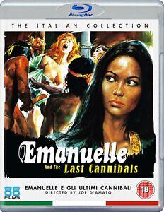 EMANUELLE AND THE LAST CANNIBALS (1977) blu-ray 88 films & italian #13 BLU