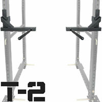 Titan T-2 Series Dip Bar Attachment for Power Rack Strength Training Workout