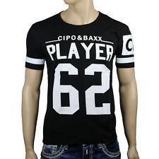 CIPO & BAXX C5441 T-Shirt Kurzarm dersim 62 Sport Football schwarz 62 Player Neu