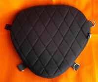 Motorcycle Driver Seat impact Gel Pad Seat for Harley Dyna Convertible FXDS-CONV