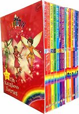 Rainbow Magic Series 1&2 Colour & Weather Fairies Collection 14 Books Box Set
