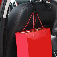 1pcs Hot Universal Car Accessory Hanger Bag Seat Truck Coat Hook Holder Durable