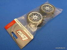 (Losi Losb7470) Xxx-S Glued Radial Touring Car Tire on 24mm Mesh Chrome Wheels