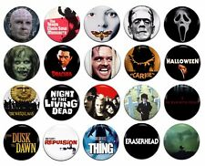 20x Horror Movies Various 25mm / 1 Inch D Pin Button Badges