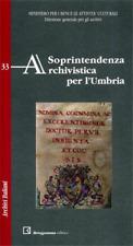 Soprintendenza Archivistica per l'Umbria.