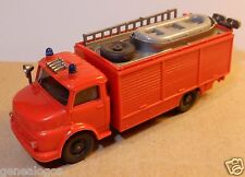 WIKING HO 1/87 CAMION MB MERCEDES L 1413 POMPIERS FIRE FEUERWEHR CANOT SAUVETAGE