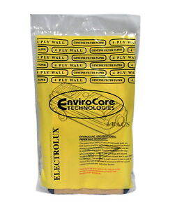Envirocare Vacuum Bags For Electrolux Style C Tank Canister Vacuums 805-4FP