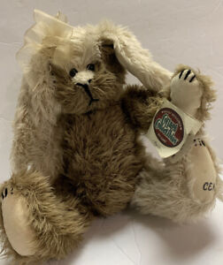 """Ganz Cottage Collectibles Bunny """"Puzzle"""" Plush w/tags Vintage Stuffed Animal 10"""""""