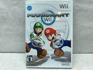 Mario Kart Wii (Nintendo Wii, 2008) Brand NEW SEALED