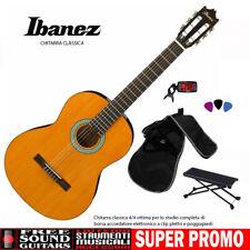 Ibanez GA3-AM CHITARRA CLASSICA 4/4 OTTIMA PER LO STUDIO + BORSA + ACCORDATORE