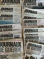 """56 numéros """"LES JOURNAUX DE GUERRE"""" 1939-1945 avec Affiches - #ww"""