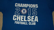 CHELSEA FOOTBALL CLUB 2015 Champions T-Shirt Size LARGE Soccer England FC