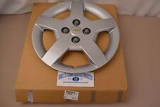 """2005-2008 Chevrolet Cobalt 15"""" Silver 5 Spoke Wheel Cover Hub Cap new OEM"""