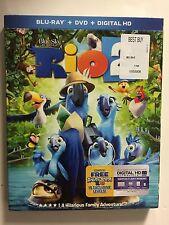 Rio 2 (Blu-ray/DVD, 2014, 2-Disc Set, Digital HD) NEW w/slipcover