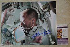 Walt Cunningham Signed 11x14 Photo w/ JSA COA #M93343 Walter NASA Apollo 7