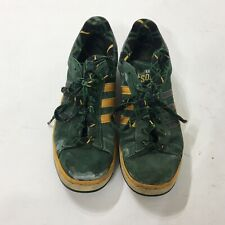 Very Rare Seattle Sonics Adidas Mens Sz 8 Green Yellow Basketball NBA Shoes S18