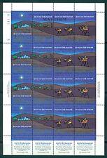 MARSHALL ISLANDS *1984 * M/Sheet (4X4 stamps) * MNH** Christmas - Mi.No 23-26KB