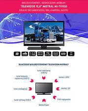 16 INCH LED TV TRIPLE TUNER FOR CAMPERS VANS, CAMPING 230 / 12VOLT ,USB, PVR