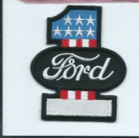 #1 Ford advertising patch 3 X 2-1/2 #5034
