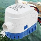 12v Automatic Submersible 1100gph Boat Bilge Water Pump Auto With Float Switch