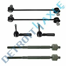 New 6pc Complete Front Tie Rod & Sway Bar Link Kit Town & Country Grand Caravan