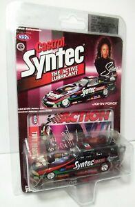Action Selena Quintanilla John Force Castrol Syntec Tony Pedregon NHRA Funny Car