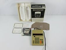 Vintage Texas Instruments Ti-3000 Electronic Calculator 1972 Instructions Box