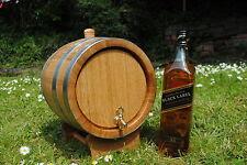 In legno 5 L LITRI ROVERE barile per acquavite di vino, whisky, BOURBON Consegna Veloce UK