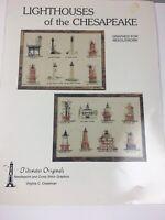 Lighthouses of the Chesapeake Cross Stitch Patterns Tidewater Originals 1980