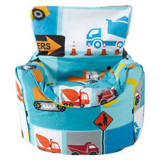 Children's Beanbag Chair Construction Boys Kids Bedroom Furniture Bean Bag Digge