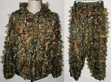 Realtree Camo Hunting Leaf Net Ghillie Suit Jacket And Trousers – MH010