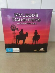 """McLeod's Daughters """" The Complete Saga""""  Box set Dvd's.""""Free Registered Post"""""""