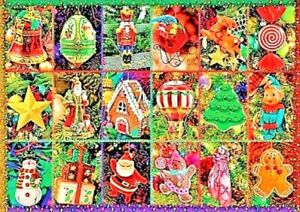 Festive Ornaments by Alison Lee Bluebird New Sealed 1000 Piece Jigsaw Puzzle