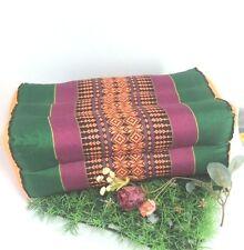 Thai Cotton Bolster Pillow Docor Yoga Massage Kapok Cushion Headrest Meditation
