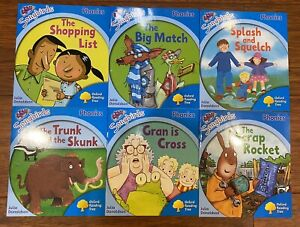Oxford Reading Tree Phonics Book Songbirds by Julia Donaldson Stage 3, 6 Books